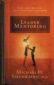 Cover of: Leader Mentoring | Michael Shenkman