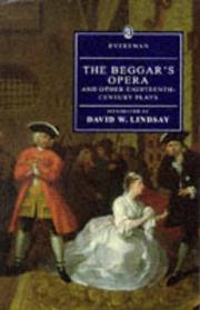 Cover of: The Beggar's Opera and Other Eighteenth-Century Plays