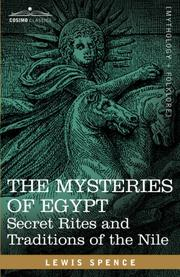 Cover of: THE MYSTERIES OF EGYPT