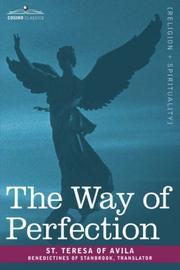 Cover of: The Way of Perfection | Teresa of Avila