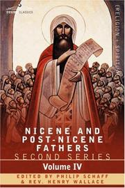 Cover of: NICENE AND POST-NICENE FATHERS: Second Series Volume IV Anthanasius: Selects Works and Letters