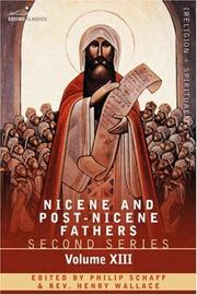 Cover of: NICENE AND POST-NICENE FATHERS