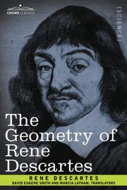 Cover of: The Geometry of Rene Descartes