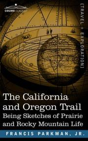 Cover of: The California and Oregon Trail