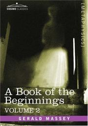 Cover of: A Book of the Beginnings, Vol.2