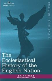 Cover of: The Ecclesiastical History of the English Nation