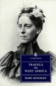 Cover of: Travels in West Africa