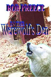 Cover of: In the Werewolf's Den