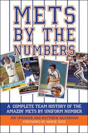 Cover of: Mets by the Numbers | Jon Springer