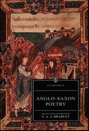 Cover of: Anglo-Saxon Poetry (Everyman