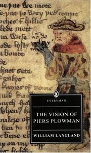 Cover of: The Vision of Piers Plowman | William Langland