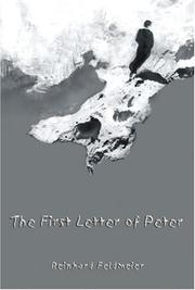Cover of: The First Letter of Peter