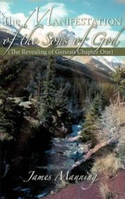 Cover of: The Manifestation of the Sons of God