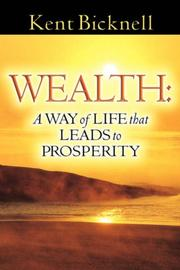 Cover of: WEALTH | Kent Bicknell