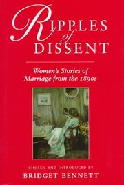 Cover of: Ripples of Dissent