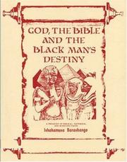 Cover of: God, the Bible and the Blackman