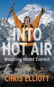 Cover of: Into hot air