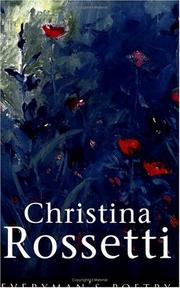 Cover of: Christina Rossetti
