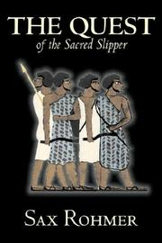 Cover of: The Quest of the Sacred Slipper