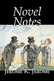 Cover of: Novel Notes
