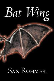 Cover of: Bat Wing