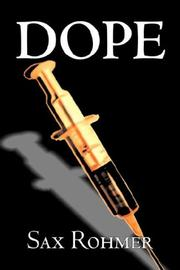 Cover of: Dope