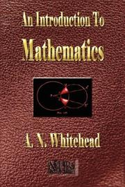 Cover of: An Introduction To Mathematics - Illustrated