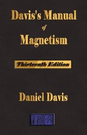 Cover of: Davis's Manual Of Magnetism - Thirteenth Edition