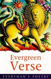 Cover of: Evergreen verse
