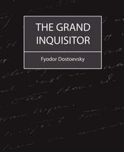 Cover of: The Grand Inquisitor | Fyodor Dostoevsky