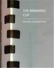 Cover of: The Brimming Cup | Dorothy Canfield Fisher