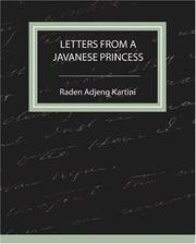 Cover of: Letters From a Javanese Princess