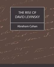 Cover of: The Rise of David Levinsky | Abraham Cahan