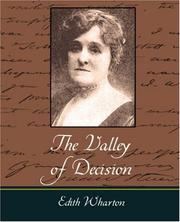 Cover of: The Valley of Decision