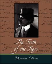 Cover of: The Teeth of the Tiger: An Adventure Story