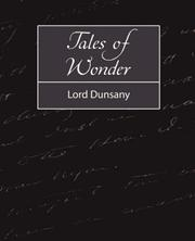 Cover of: Tales of Wonder | Lord Dunsany