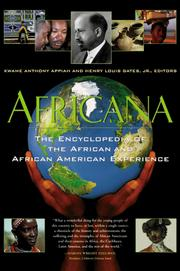 Cover of: Africana by Anthony Appiah, Henry Louis Gates