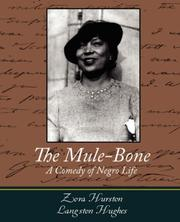 Cover of: The Mule-Bone