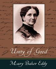Cover of: Unity of good