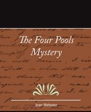 Cover of: The Four Pools Mystery - Jean Webster