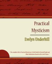 Cover of: Practical Mysticism - Evelyn Underhill