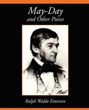 Cover of: May-day, and other pieces