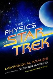Cover of: The Physics of Star Trek
