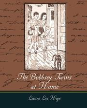 Cover of: The Bobbsey Twins at Home | Laura Lee Hope