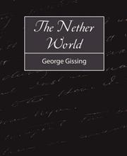 Cover of: The Nether World | George Gissing