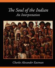 Cover of: The Soul of the Indian An Interpretation