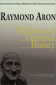 Cover of: The dawn of universal history