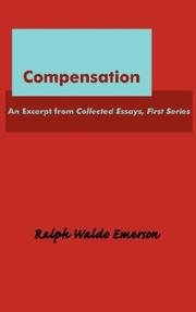Cover of: Compensation: an essay.
