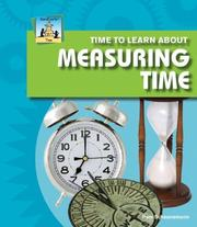 Cover of: Time to learn about measuring time