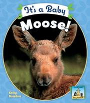 Cover of: It's a Baby Moose! (Baby Mammals) | Kelly Doudna